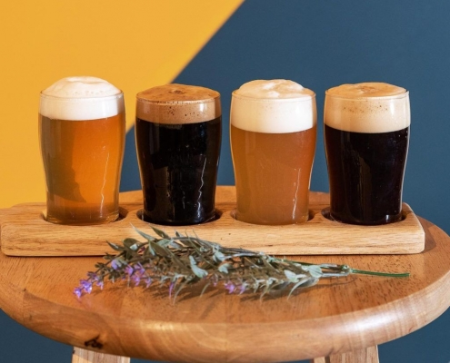 Stay at Cranmore Inn while visiting Ledge Brewing Company